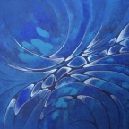 Blue for you 80x60cm