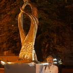 Igor Grechannyk - Prayer for Ukraine, Bronze (night)