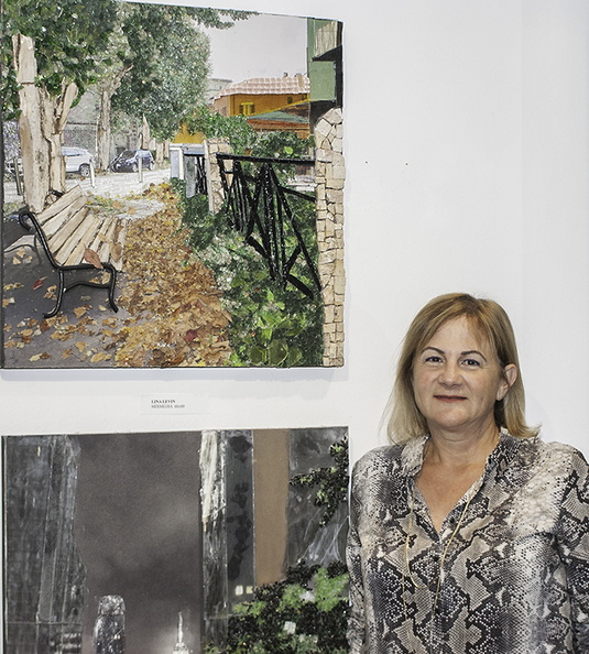 Lina Levin and her artworks.jpg