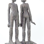 Matheisen Andrea - To be! Bronze, 2018 Höhe ca. 50 cm