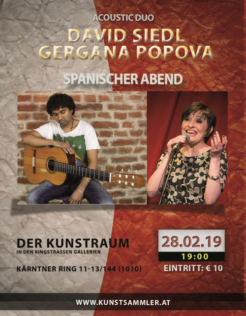Flyer Gergana David 500